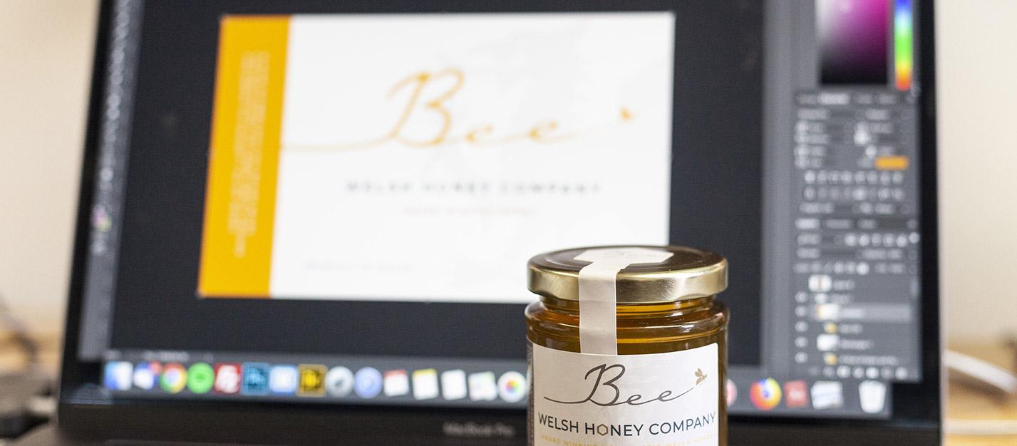 Bee Honey Branding Design